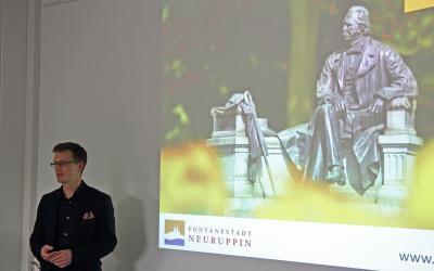 Vorschaubild zur Meldung: Vortrag von Mario Zetzsche über Fontane 200