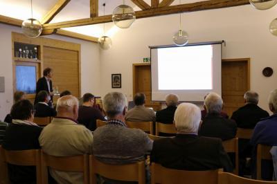 Foto zur Meldung: Gläubige unserer Pfarrgemeinde über die bevorstehende Kirchenrenovierung informiert