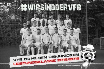 Foto zur Meldung: Finale Niederrheinpokal U19 - 0:4