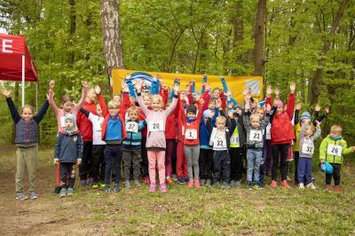 Foto zur Meldung: Kindergartenkinder liefen im Stadtwald um die Wette