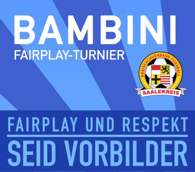 Foto zur Meldung: Bambini - Fair-Play-Turnier am 05.05.19 in Spergau