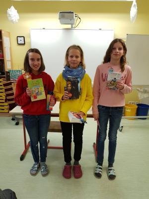 Foto zur Meldung: Vorlesewettbewerb der Klasse 6