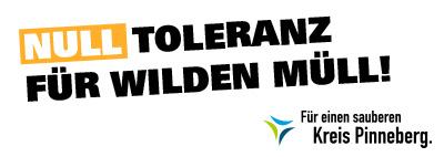 Null Toleranz wilder Müll
