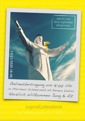 JugendGottesdienst in Schönermark, 13.11.2020