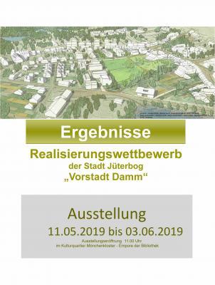 """Foto zur Meldung: Ausstellungseröffnung zum Wettbewerb """"Vorstadt Damm"""" (Schaustelle Stadtkern)"""