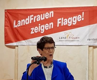 Vorschaubild zur Meldung: Aktionstag 2019 - LandFrauen zeigen Flagge