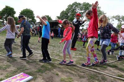 Sport und Spaß beim Kinderprogramm in Birkenstein