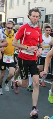 Foto zur Meldung: Daniel Weiser gewinnt Windhagen Marathon