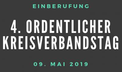 Foto zur Meldung: 4. ordentlicher Kreisverbandstag (mit Wahlen) am 09.05.2019