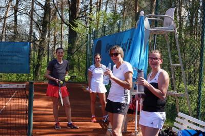 Vorschaubild zur Meldung: Tennis: Gelungener Start in die neue Saison