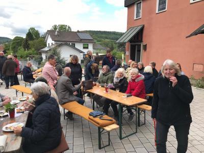 Vorschaubild zur Meldung: Erneuerung des Kirchenvorplatzes in Neudorf