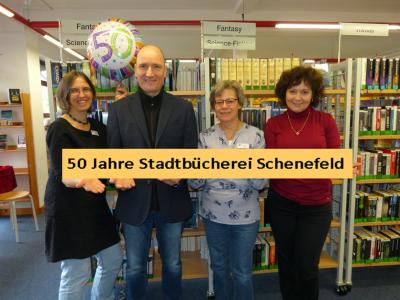 50 Jahre Stadtbücherei Schenefeld