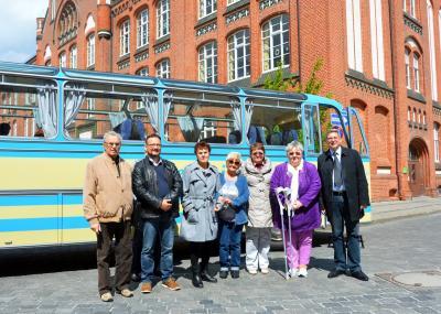 Die Mitglieder des Kreisseniorenbeirates mit Bürgermeister Dr. Oliver Hermann (r.) I Foto: Martin Ferch