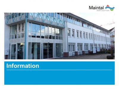 """Die Stadt Maintal informiert: Demnächst wird die """"Tütenpflicht"""" bei Hundebesitzer*innen kontrolliert. Bild: Symbolbild """"Information des Rathauses"""""""