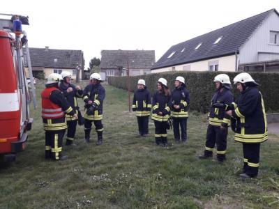 Foto zur Meldung: Feuerwehrübung 03.05.2019