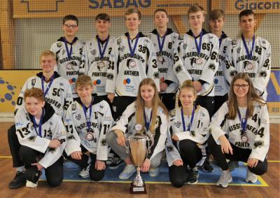 Vorschaubild zur Meldung: London, Moskau, Tel Aviv ... Bissendorf. EuroCup Bronze für U16 der Bissendorfer Panther