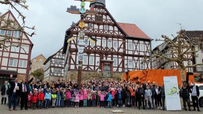 """Die Aktion """"Sauberhaftes Hessen"""" in Sontra am 7. Mai 2019"""