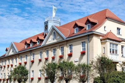 Unser Bild zeigt das Falkenseer Rathaus in der Falkenhagener Straße 43/49.