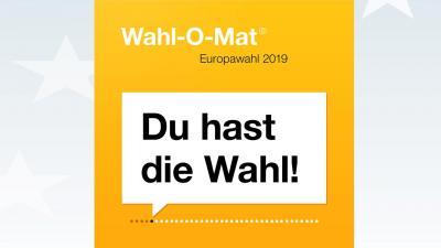 Vorschaubild zur Meldung: Wahl-O-Mat für die Europawahl 2019