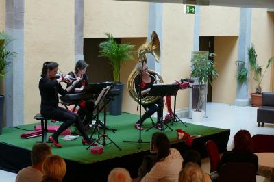 Kulturnachteröffnung mit der Trio