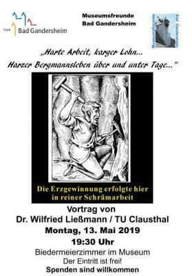 Vorschaubild zur Meldung: Harte Arbeit, karger Lohn... - Harzer Bergmannsleben -