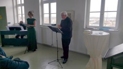 Elisabeth Raßbach und Ulf Kenklies