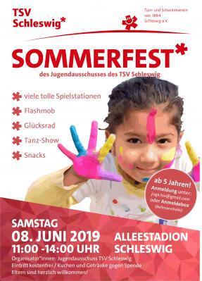 Vorschaubild zur Meldung: Sommerfest des Jugendausschusses des TSV Schleswig