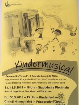 Vorschaubild zur Meldung: Kindermusical in Kirchhain und Friedersdorf