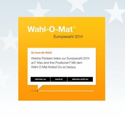 Wahl-O-Mat zur Europawahl