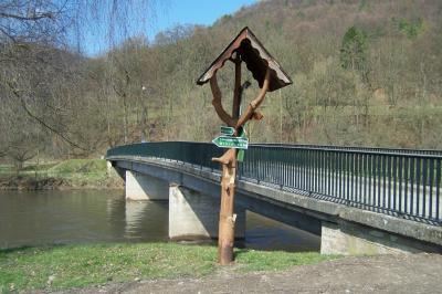 Vorschaubild zur Meldung: Sanierung der Werrabrücke in Frankenroda