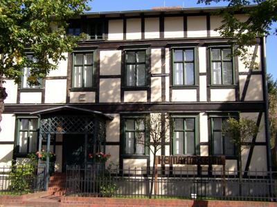 Das Bild zeigt das Museum und Galerie in der Falkenhagener Straße 77.