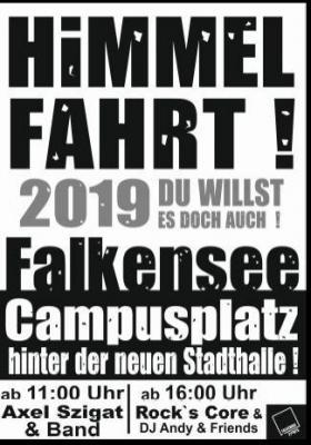 Falkensee Events lädt ein: Himmelfahrt auf dem Campusplatz