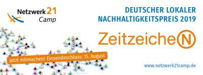 Vorschaubild zur Meldung: Bewerben zum Deutschen Lokalen Nachhaltigkeitspreis ZeitzeicheN !