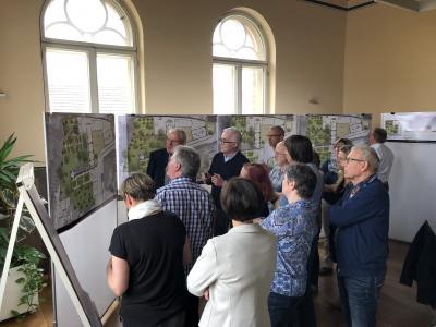 Vorschaubild zur Meldung: Zum Tag der Städtebauförderung Kyritzer Stadtgeschichte kennengelernt und mitgestaltet