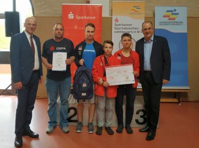 Foto zur Meldung: Sparkassen - Sportabzeichen-Wettbewerb in M-V