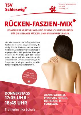 Foto zur Meldung: Neu beim TSV Schleswig: Rücken-Faszien-Mix