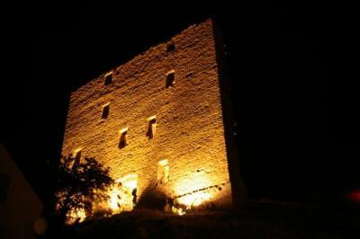 Foto zur Meldung: Burgfest im Jubiläumsjahr der Rundkirche