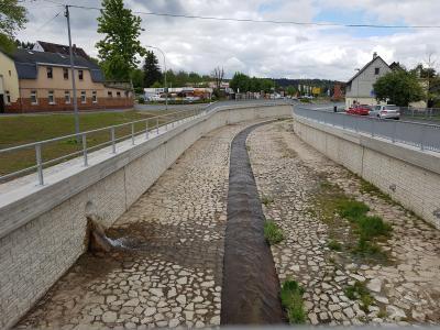 Vorschaubild zur Meldung: Abschluss der Hochwassermaßnahmen 2013 der Stadt Rodewisch