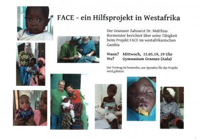 Vorschaubild zur Meldung: FACE - ein Hilfsprojekt in Westafrika