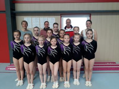 Foto zur Meldung: TSV-Turnerinnen erfolgreich bei Kreismeisterschaften