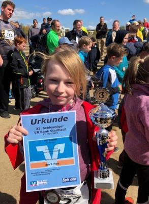 Foto zur Meldung: Pia Völkner erfolgreich beim Schleswiger Stadtlauf