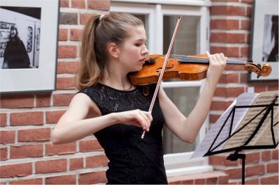 Foto zur Meldung: Gelungenes Konzert der jungen Meister