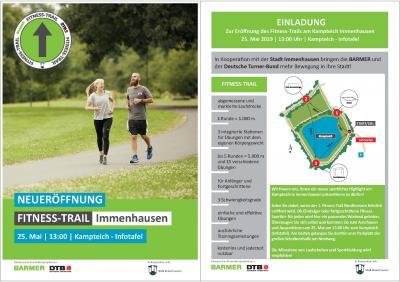 Vorschaubild zur Meldung: Neueröffnung: Fitness-Trail Immenhausen