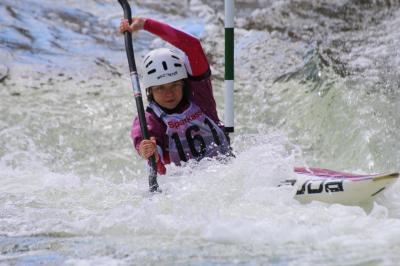 Foto zur Meldung: Regattabericht: Norddeutsche Meisterschaft im Kanuslalom