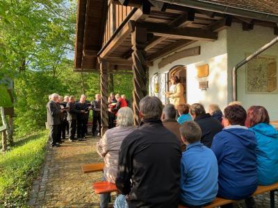 Foto zur Meldung: Maiandacht in unserer Fatimakapelle gefeiert