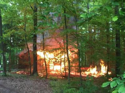 Vorschaubild zur Meldung: Einsatz Nr. 33 - Gartenhausbrand verlängerter Neckargemünder Weg