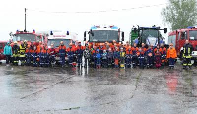 Vorschaubild zur Meldung: Aufregendes Wochenende für den Feuerwehr-Nachwuchs der Gemeinde Königshain-Wiederau