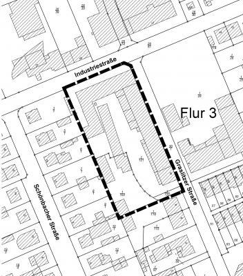 """Foto zur Meldung: Öffentliche Bekanntmachung Vorhabenbezogener Bebauungsplan mit Vorhaben- und Erschließungsplan """"Graslitzer Straße 10"""""""