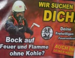 Vorschaubild zur Meldung: Die Freiwillige Feuerwehr benötigt Unterstützung