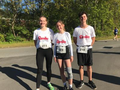 Vorschaubild zur Meldung: Domschüler/innen erfolgreich beim Immelmann-Lauf